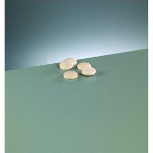 Billigtpyssel.se | Knappform i trä 20 mm - 50-pack - blekt runda