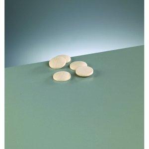 Billigtpyssel.se | Knappform i trä 25 mm - 50-pack - blekt runda