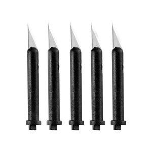 Billigtpyssel.se   Knivblad till Skalpell Svart - 5 st
