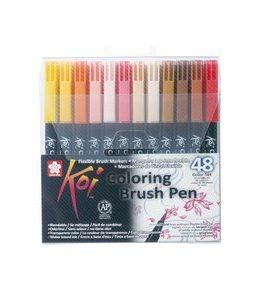 Billigtpyssel.se   Koi Color Penselpenna - 48 pennor