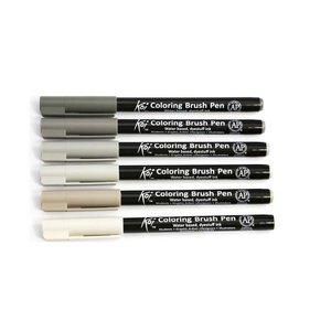 Billigtpyssel.se | Koi Color Penselpenna - 6 pennor