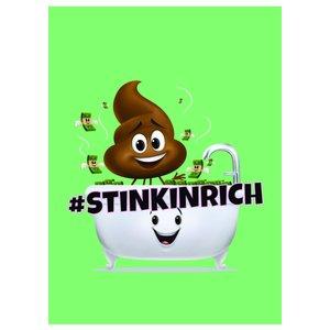Billigtpyssel.se   Kollegieblock A4 Rutat - Poop-emoji