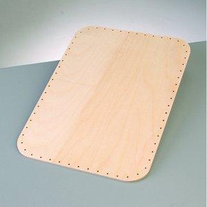 Billigtpyssel.se   Korgbotten 34 x 24 cm / 4 mm - rektangulär