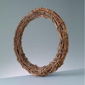 Billigtpyssel.se | Krans av klängväxt 30 cm - naturlig