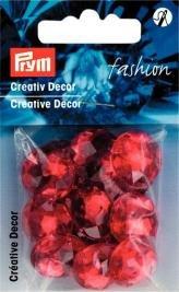 Billigtpyssel.se | Kreativ Dekor fastsys 18 mm röd 14 st