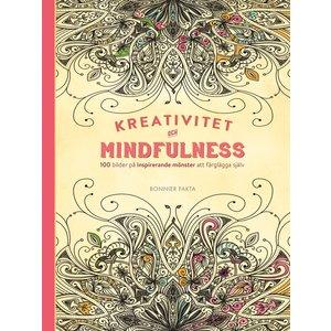 Billigtpyssel.se | Kreativitet och mindfulness - 100 bilder på inspirerande mönster att färglägga själv
