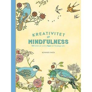 Billigtpyssel.se | Kreativitet och mindfulness - 100 bilder på vackra fåglar att färglägga själv