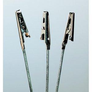 Billigtpyssel.se | Krodilklämma 31 + 55 mm - 50-pack - med tråd