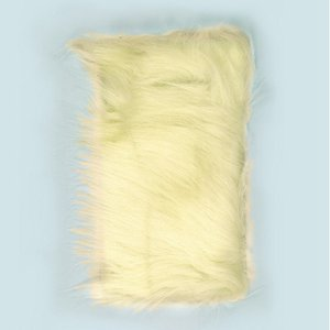 Billigtpyssel.se | Långt hår plysch 20 x 35 cm - beige