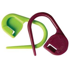 Billigtpyssel.se | Låsbara Stickmarkörer KnitPro