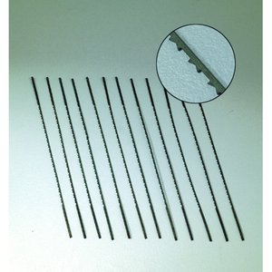 Billigtpyssel.se   Lövsåg blad - 12 st. multitand nr. 9