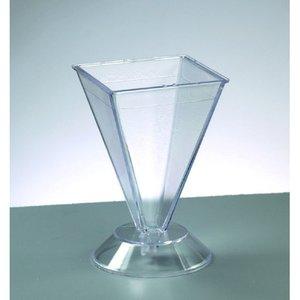Billigtpyssel.se | Ljusvas 105 x 67 x 67 mm - pyramid / max. 65 ° C