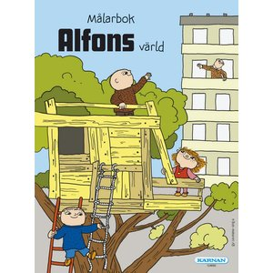 Billigtpyssel.se | Målarbok Alfons Åberg
