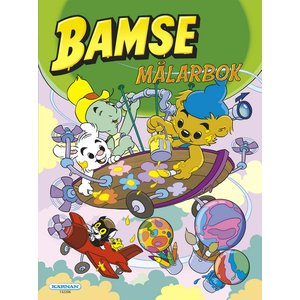 Billigtpyssel.se | Målarbok Bamse