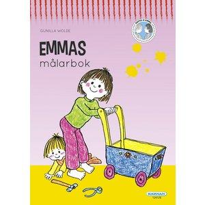 Billigtpyssel.se | Målarbok Emma