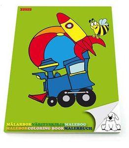 Billigtpyssel.se   Målarbok Enkla Bilder - Sense