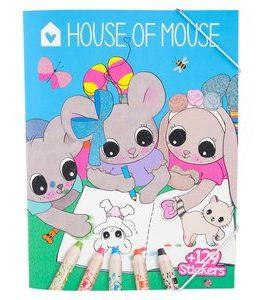 Billigtpyssel.se | Målarbok - House of Mouse