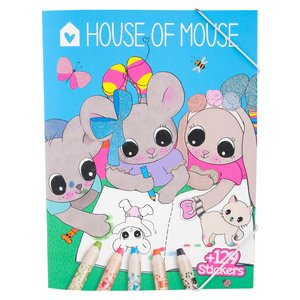 Billigtpyssel.se   Målarbok - House of Mouse