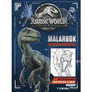 Billigtpyssel.se | Målarbok Jurassic World 2