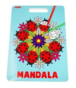 Billigtpyssel.se | Målarbok Mandala - Sense