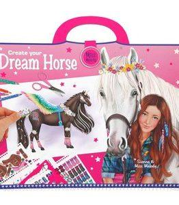 Billigtpyssel.se   Målarbok Miss Melody - Create your Dream Horse