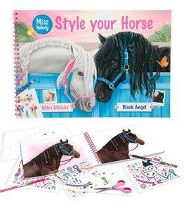 Billigtpyssel.se   Målarbok Miss Melody - Style your Horse