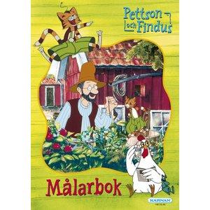 Billigtpyssel.se | Målarbok Pettson & Findus