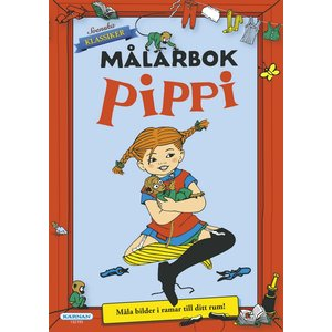 Billigtpyssel.se | Målarbok Pippi