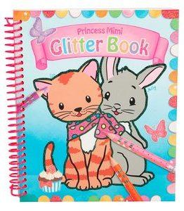 Billigtpyssel.se   Målarbok Princess Mimi - Glitter