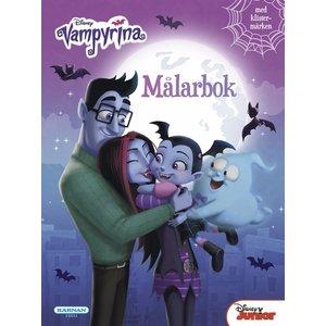 Billigtpyssel.se | Målarbok Vampyrina
