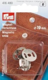 Billigtpyssel.se   Magnetspänne 19mm silverfärg
