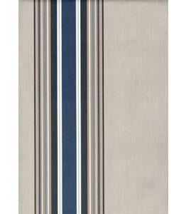 Billigtpyssel.se | Markisväv Kristina - Blå/vit - 132 cm