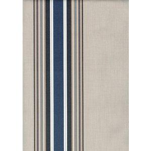 Billigtpyssel.se   Markisväv Kristina - Blå/vit - 132 cm