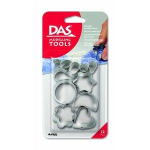 Billigtpyssel.se   Metallformar DAS - 12 st