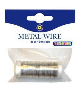 Billigtpyssel.se | Metalltråd 80 m - Guld och Silver