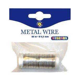 Billigtpyssel.se   Metalltråd 80 m - Guld och Silver