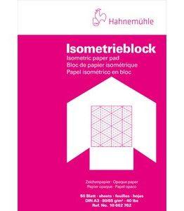 Billigtpyssel.se | Millimeterblock Hahnemühle Isometric 80/85g