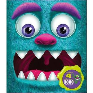 Billigtpyssel.se | Min monsterryggsäck - pyssel och klistermärken