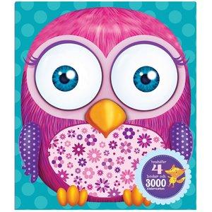 Billigtpyssel.se | Min rosa ryggsäck - med pyssel och klistermärken