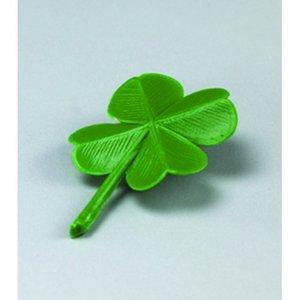 Billigtpyssel.se | Miniatyr 28 mm - grön 8 st. Fyrklöver