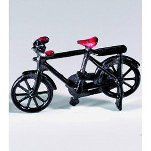 Billigtpyssel.se | Miniatyr 50 x 30 mm - svart Cykel