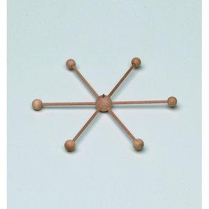 Billigtpyssel.se | Mobilstjärna ø 22 cm - obehandlat