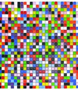 Billigtpyssel.se | Mosaik 10 mm - 784 st