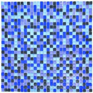 Billigtpyssel.se | Mosaik Blå 10 mm - 784 st