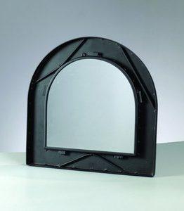 Billigtpyssel.se   Mosaix Spegelram för mosaik 35 x 35 cm - svart halvbåge