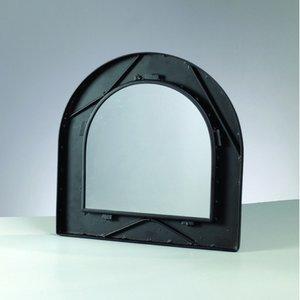 Billigtpyssel.se | Mosaix Spegelram för mosaik 35 x 35 cm - svart halvbåge