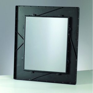 Billigtpyssel.se | Mosaix Spegelram för mosaik 45 x 52 cm - svart rektangulär