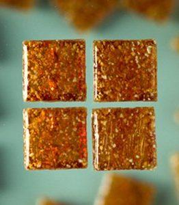 Billigtpyssel.se | MosaixPro - glasmosaik 10 x 10 mm - brun 1.000 g ~ 1