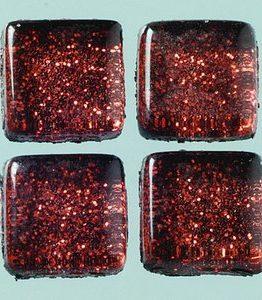 Billigtpyssel.se | MosaixPro-glasmosaik Glitter 10 x 10 x - brun 200 g ~ 215 st.
