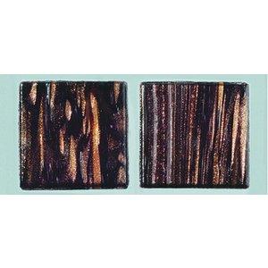 Billigtpyssel.se | MosaixPro-glasmosaik Goldline 20 x 20 m - svart 200 g ~ 72-pack